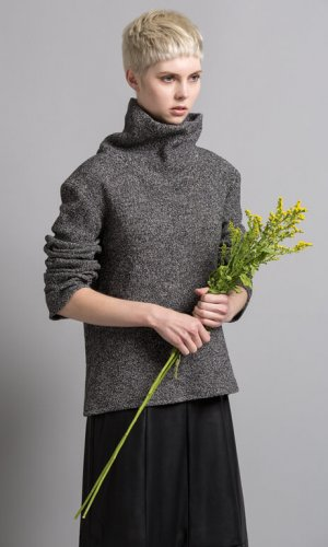 Bo Carter Vegan Roll Nec k Jumper