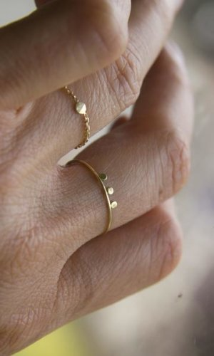Dot and Chain Ring