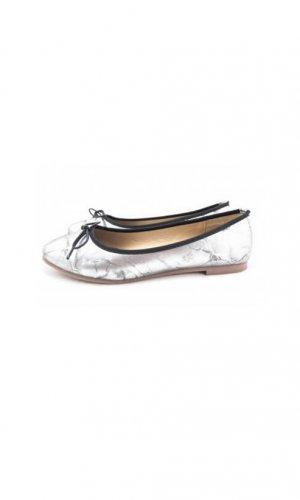 Silver Ballerina Pump By Seria Elves