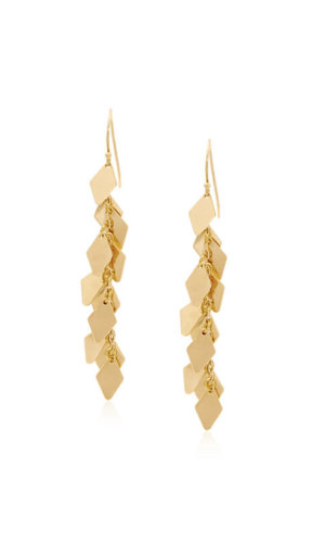 18K Gold Chandelier Earrings By Lily Flo