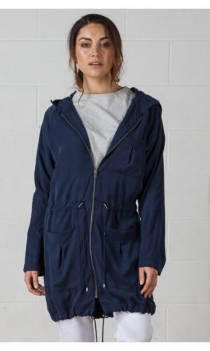 Tencel Parka Jacket