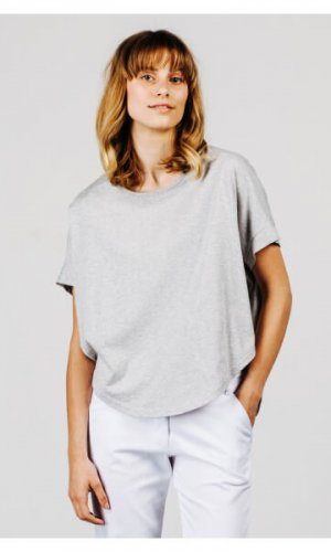 Grey Marle Blouse