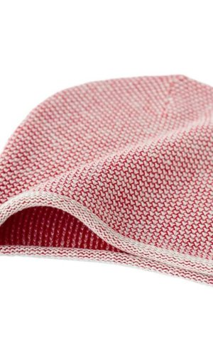 Light Pink Knit Beanie By Mimoods Knits
