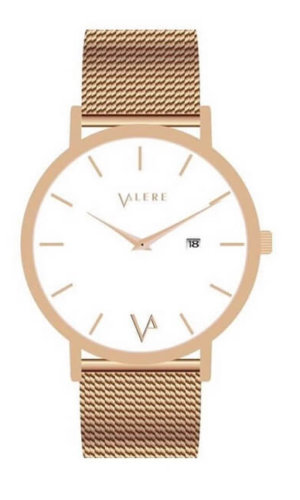 Novus Edition Rose Gold Watch By Valere London