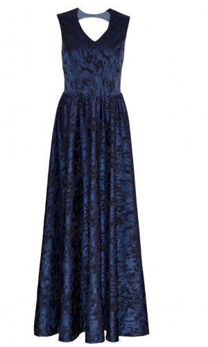 Blue Roberta Maxi Dress By Anna Netter