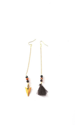 Jagger Tribal Earrings By Crystal and Sage