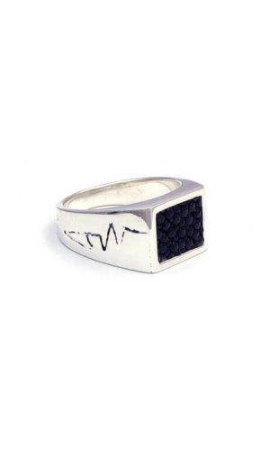 Stingray Leather Ring
