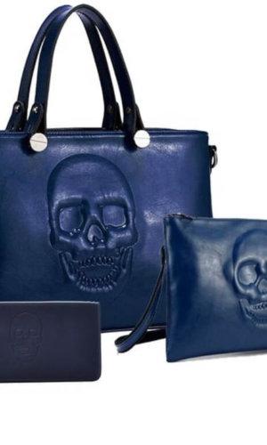 Vegan Leather Handbag Set