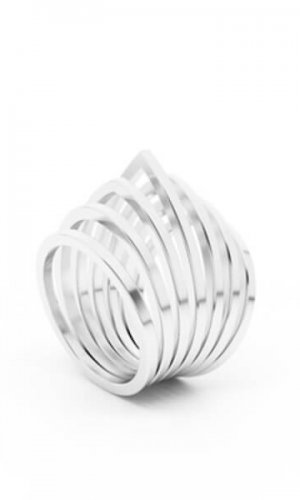 Duomo Sterling Silver Ring