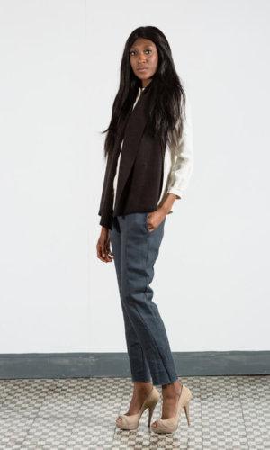Virgin Wool Unisex Vest