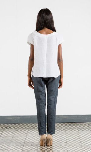 Minimalist White T-Shirt