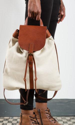 Zaino Canvas Backpack