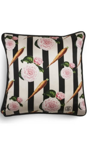 Carrots and Roses Cushion