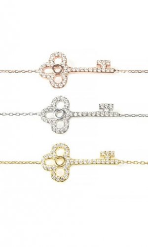 Key Crystal Bracelet