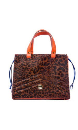 Giraffe Hair Amunet Bag