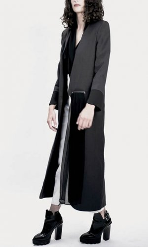 Kodah Long Grey Coat
