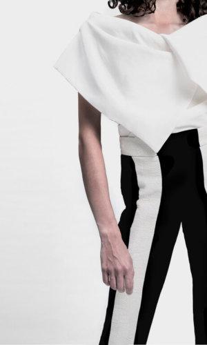 Oversized White Vest
