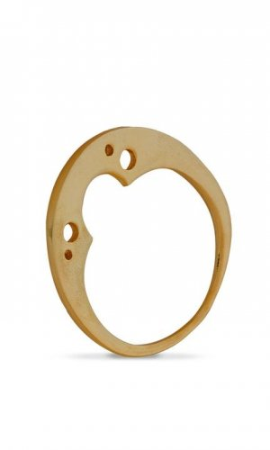 Clover Bubble Ring