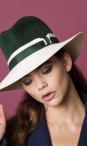 Green Envy Fur Felt Hat