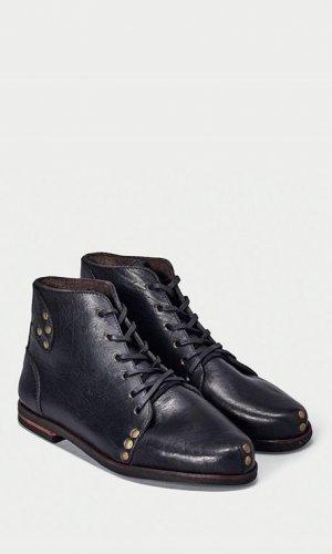 Modern Black Derby Boot