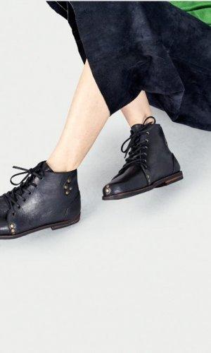Modern Black Derby Boots