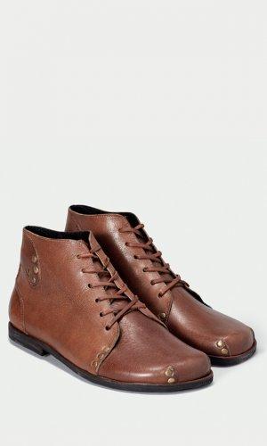 Modern Brown Derby Boots