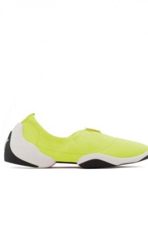 Yellow Light Jump Sneakers