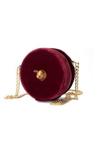 Cerdo Burgundy Velvet Bag