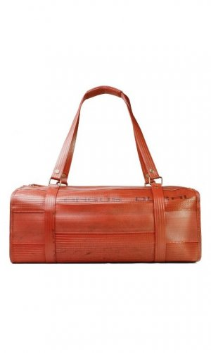 Overnight Bag in Red