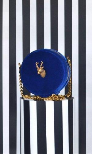 Ciervo Blue Velvet Bag