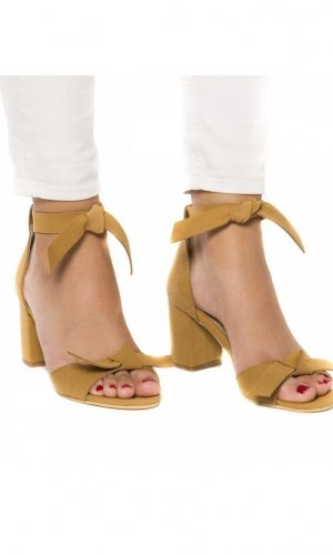 Estela Vegan Yellow Sandals