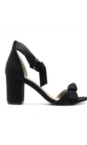 Estela Vegan Black Sandals