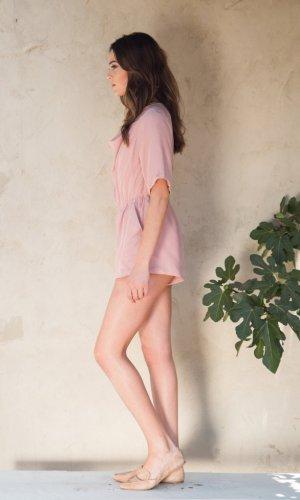 Cyntia Pink Playsuit