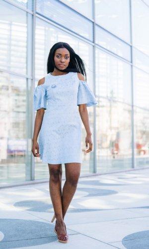 Agnes Cold Shoulder Dress