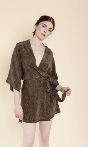 Leilani Silk Mini Dress