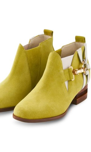Green Bean Suede Boot