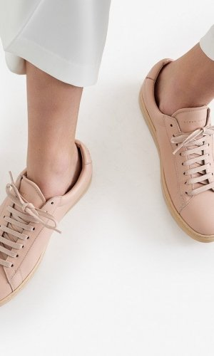 Low 1 Nude Sneakers
