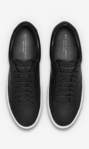 Low 1 Black Sneakers