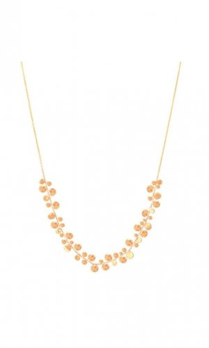 Cluster of Stars Demi Necklace in Rose Gold