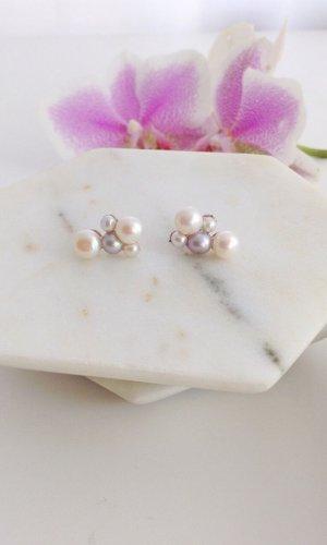 Greta Freshwater Pearl Stud Earrings