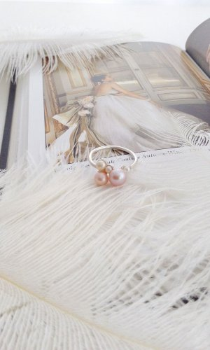 LilyFlo Pearl Cluster Ring