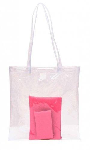 BOO Pink Tote Bag Set