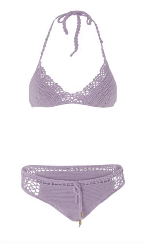 Halter Bikini Ivy in Purple