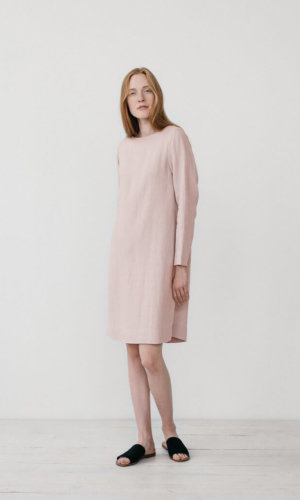 Elsa Pink Oversized Dress