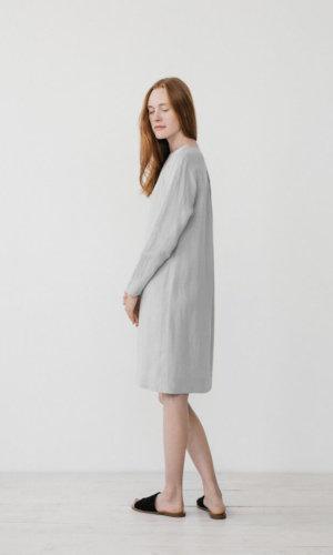 Elsa Grey Oversized dress