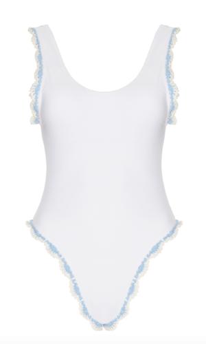 Maiyo Limited Bleu Belle One Piece Swimsuit