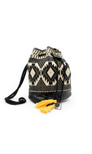 Boho Black Tribal Bag