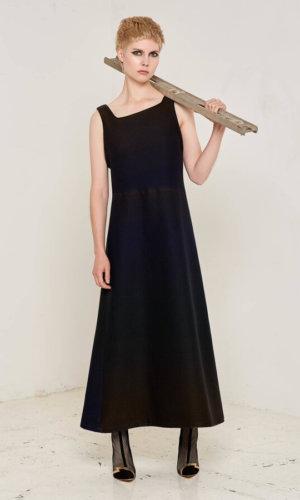 Felberta Asymmetric Maxi Dress