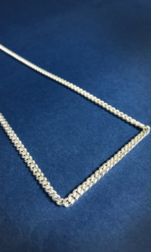 Minimalist Silver Chain Necklace