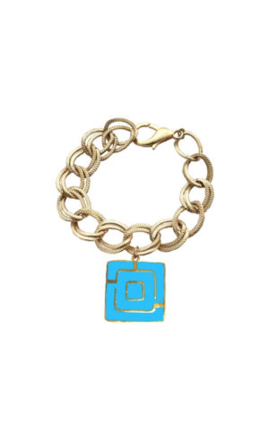 Square Maze Chain Bracelet
